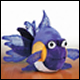 LIL WEBKINZ - PURPLE GOLDFISH (6 COUNT)
