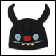 UGLY HAT - NINJA BATTY SHOGUN - BLACK (4 COUNT)