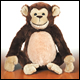 WEBKINZ - CHIMPANZEE - DISCONTINUED