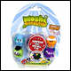 MOSHI MONSTERS - MOSHLING FIGURES SERIES 4 BLISTER PACK (6 COUNT)