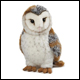 WEBKINZ SIGNATURE - BARN OWL - NEW