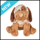 WEBKINZ - CHOCO CHEEKY DOG - NEW