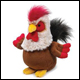 WEBKINZ - ROCKABILLY ROOSTER - DISCONTINUED