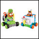TRASH PACK - SCRAP RACERS PLAYSET (4 COUNT)
