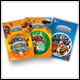 SKYLANDERS - STICKER PACK ASSORTMENT (40 COUNT)