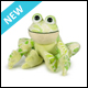 WEBKINZ - FLOWER FROG - NEW