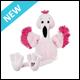 WEBKINZ - FANCY FLAMINGO - NEW