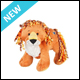 WEBKINZ - CURLY LION - NEW