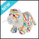 WEBKINZ - COLOURSPLASH TIGER - NEW