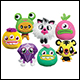 MOSHI MONSTERS - SOFT TOYS ASSORTMENT - WAVE 3 (12 COUNT CDU)