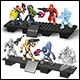HALO - COMBAT UNIT XI ASSORTMENT (6 COUNT)