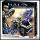 HALO  UNSC ALL-TERRAIN MONGOOSE (5 COUNT)