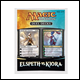MAGIC THE GATHERING - ELSPETH VS KIORA DUEL DECKS (6 COUNT)