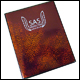 SAS A5 Holo 12 page 4 Pocket Portfolio - RED (12 CNT)