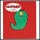 UGLYDOLL - PLUSH JOURNAL - UGLYWORM DISCONTINUED