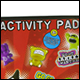 GOGO CRAZY BONES GIANT ACTIVITY PAD (6 COUNT)