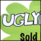 UGLYDOLL SOLD HERE - A4 WINDOW STICKER