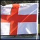 ENGLAND CAR FLAG (50 COUNT)