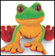 WEBKINZ - TREE FROG - DISCONTINUED