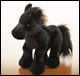 WEBKINZ - BLACK STALLION