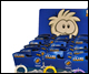 CLUB PENGUIN PUFFLE KEYCHAINS (24 COUNT)