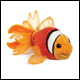 LIL WEBKINZ - CLOWN FISH (6 COUNT)