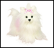 WEBKINZ - WHITE YORKIE DOG - DISCONTINUED