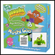 MOSHI MONSTERS - MOSHI GOO BOX WITH ULTRA RARE GURGLE MOSHLING FIGURE