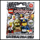 4 x LEGO MINIFIGURES - SERIES 9 FOIL PACKS