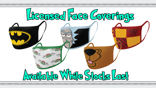 Licensed Face Coverings