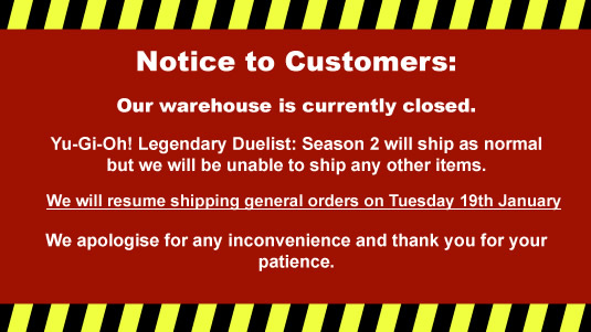 Warehouse Closure