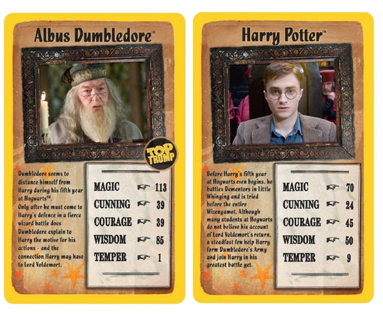 Top Trumps Harry Potter and The Order of the Phoenix Card Game Age 3 yrs