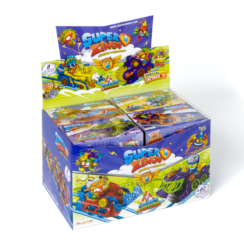 Bliss Distribution Superzings Series 5 Sky Racer 8 Count