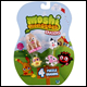 MOSHI MONSTERS - PUZZLE ERASERS 4 PACK BLISTER (144 COUNT BOX)