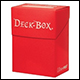 ULTRA PRO - DECK BOX  - RED - 81452