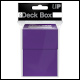 ULTRA PRO - DECK BOX - PURPLE - 82482