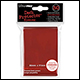 ULTRA PRO - STANDARD CARD SLEEVES 50PK - RED (12 COUNT CDU) - 82672