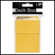 ULTRA PRO - DECK BOX - YELLOW - 82476