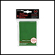 ULTRA PRO - STANDARD CARD SLEEVES 50PK - GREEN (12 COUNT CDU) - 82671