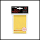 ULTRA PRO - STANDARD CARD SLEEVES 50PK - YELLOW (12 COUNT CDU) - 82675