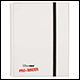 ULTRA PRO - 9 POCKET PRO BINDER - WHITE - 82833