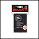 Ultra Pro - Standard Pro Matte Card Sleeves 50pk - Black (12 Count)