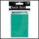 ULTRA PRO - DECK BOX - AQUA - 84228