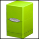 ULTRA PRO - SATIN TOWER DECK BOX - LIME GREEN - 84179