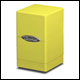 ULTRA PRO - SATIN TOWER DECK BOX - BRIGHT YELLOW - 84182