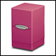 ULTRA PRO - SATIN TOWER DECK BOX - BRIGHT PINK - 84178
