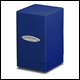 ULTRA PRO - SATIN TOWER DECK BOX - BLUE - 84175