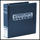 ULTRA PRO - COLLECTORS ALBUM D-RING BINDER - BLUE - 81398