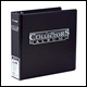 ULTRA PRO - COLLECTORS ALBUM D-RING BINDER - BLACK - 81406