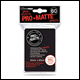 Ultra Pro - Small Pro Matte Card Sleeves 60pk -  Black (10 Count CDU)